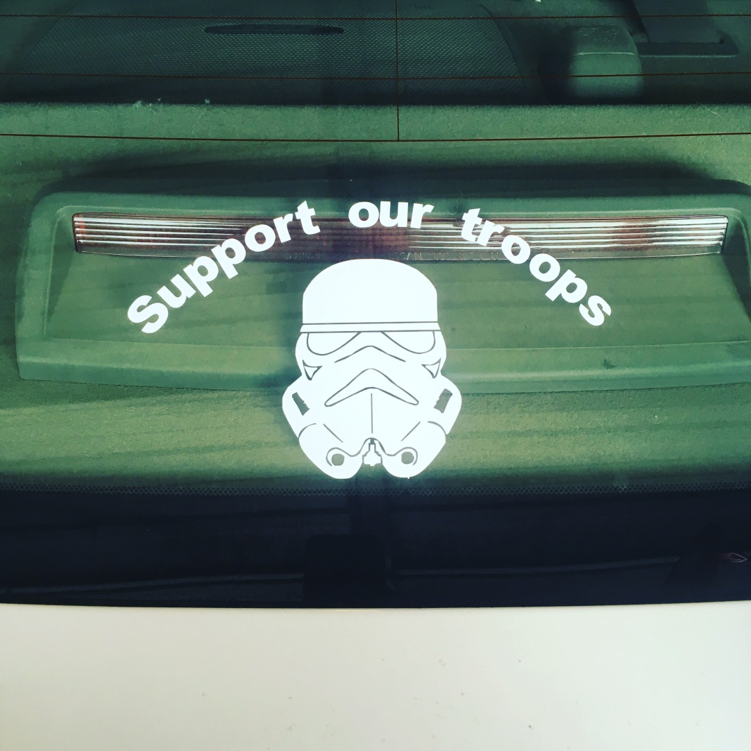 also on my car.