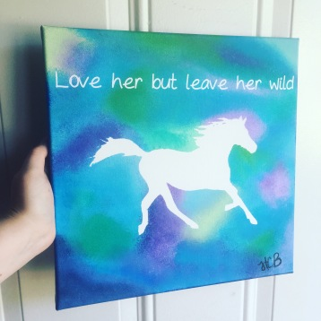 this was for a friend who loves horses